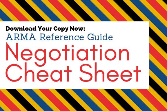 Negotiation Cheat Sheet